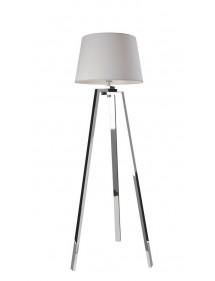 TRIOLO LP podłogowa lampa pokojowa na polerowanym statywie trójramiennym - Sompex