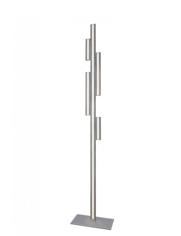 Lampa podłogowa EMPIRE LP w niklowanej nowoczesnej stylizacji - Sompex