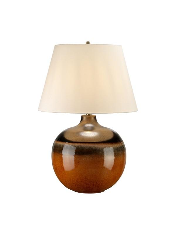 Zgrabna lampa na stoliczek nocny Colorado Large - Lui's Collection