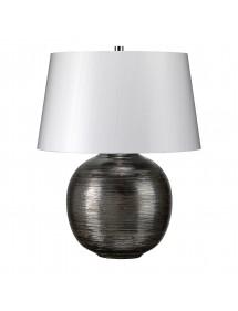 Nowoczesna lampa stołowa Caesar Silver - Lui's Collection