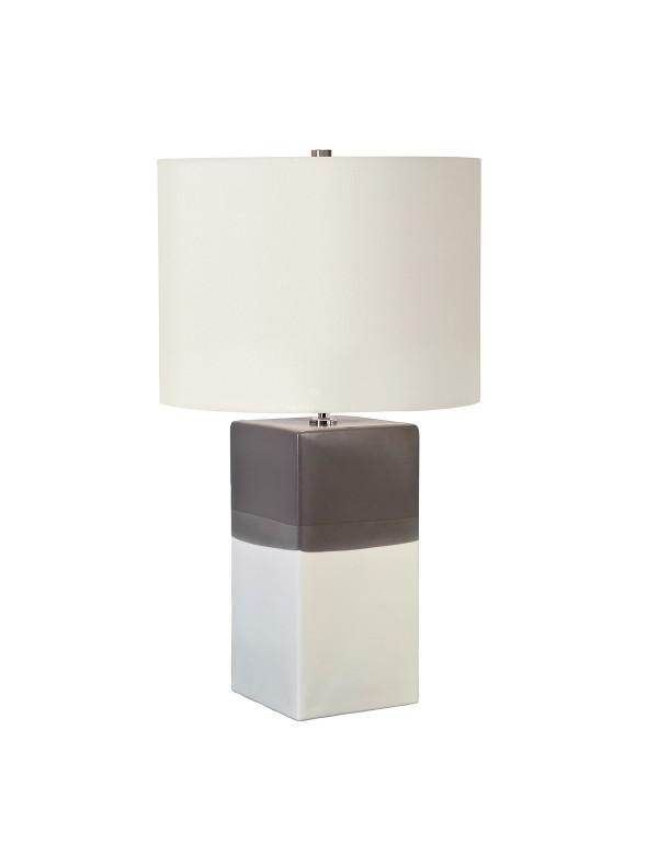 Stylowa lampa na stoliczek nocny Alba Cream - Lui's Collection