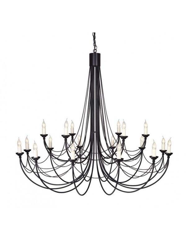 Ogromny żyrandol klasyczny Carisbrooke 18lt - Elstead Lighting