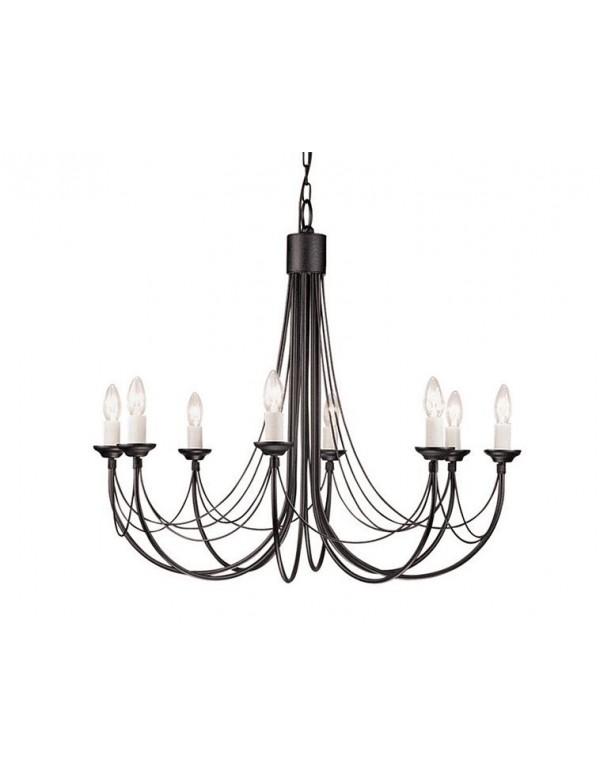 Wisząca stylowa oprawa klasyczna Carisbrooke 8lt - Elstead Lighting