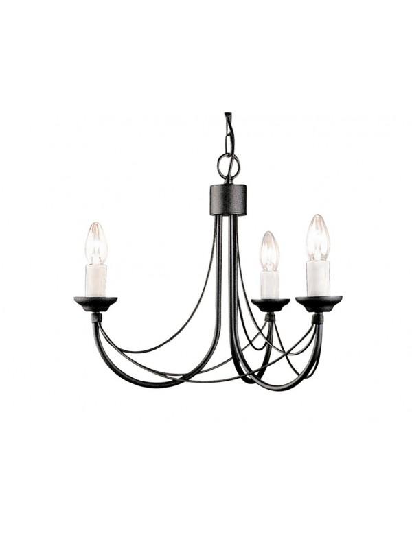 Potrójny żyrandol w klasycznym stylu Carisbrooke 3lt - Elstead Lighting