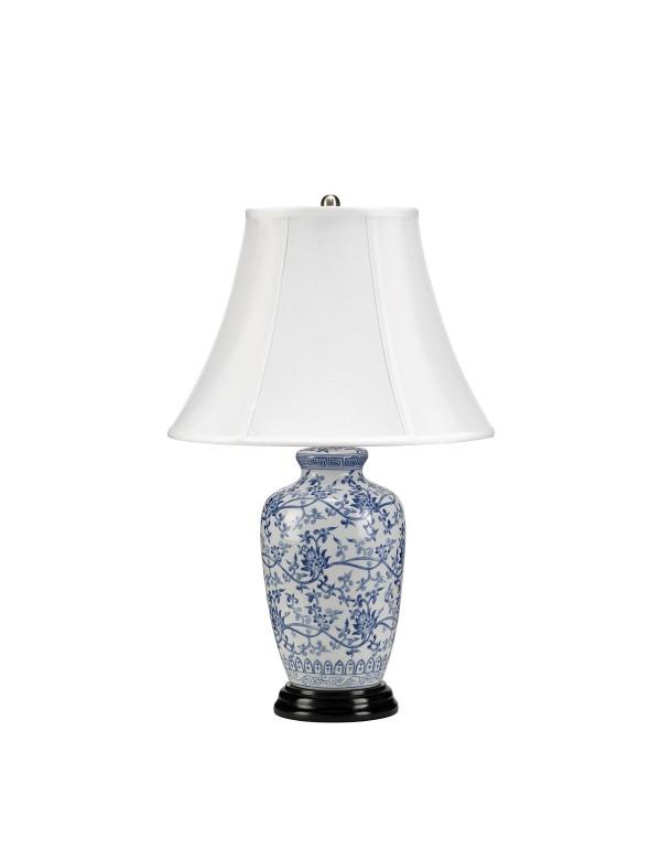 Piękna oprawa stołowa Blue Ginger Jar - Lui's Collection