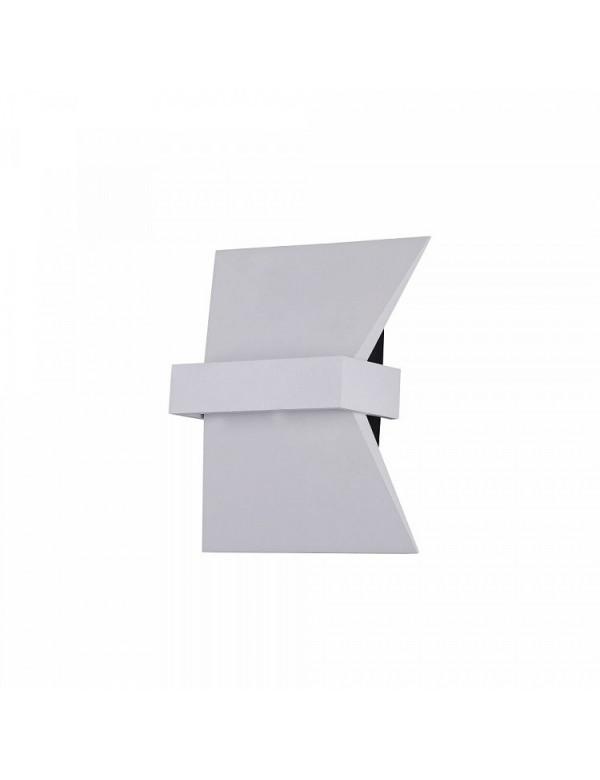 Nowoczesny kinkiet TRAME 4 kolor biały lub czarny - Maytoni