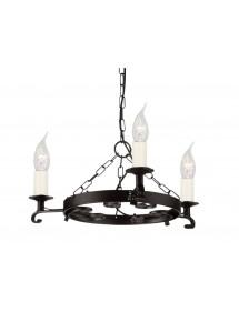 Gustowny żyrandol domowy Rectory - Elstead Lighting