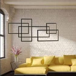 QUADRATUS LW wisząca lampa led o geometrycznym wzorze - Azzardo