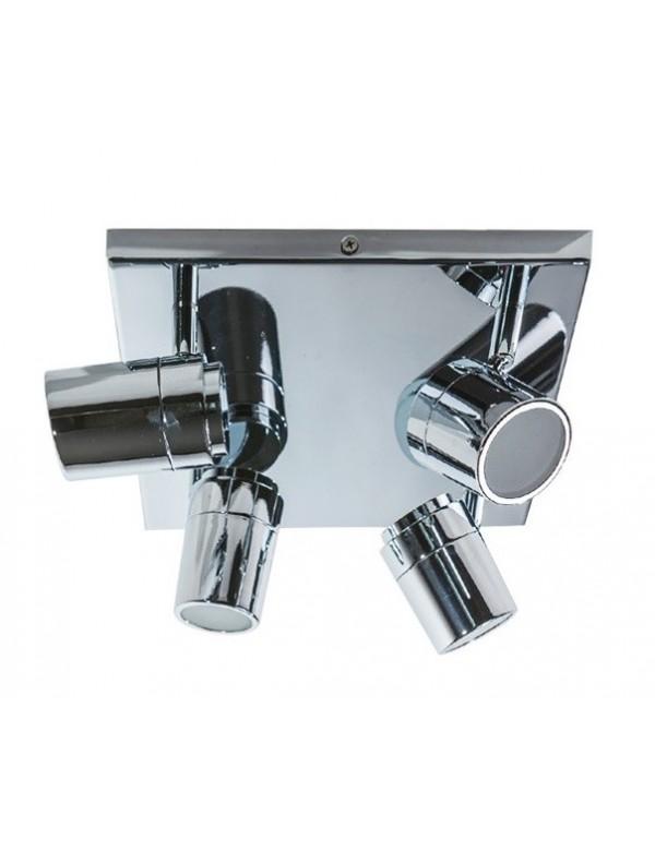 Kwadratowa oprawa z przeznaczeniem do łazienki NOEMIE 4 - Azzardo