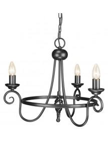 Gustowny żyrandol Harlech 3lt - Elstead Lighting