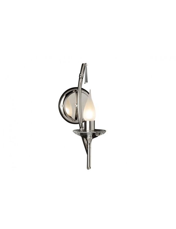 Niepowtarzalny kinkiet domowy Brightwell BR1 Chrome - Elstead Lighting