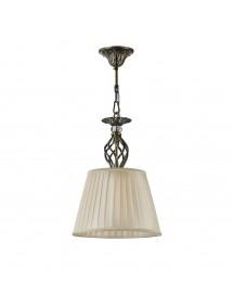 GRACE W mała wisząca lampa z plisowanym abażurem - Maytoni