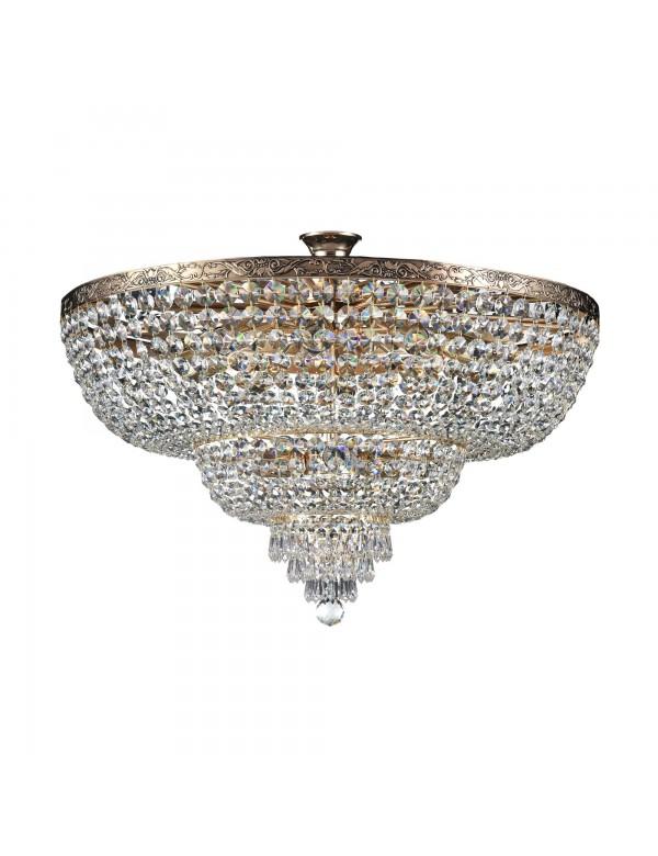 SHERBORN W1 wisząca lampa w kolorze antycznego brązu - Maytoni