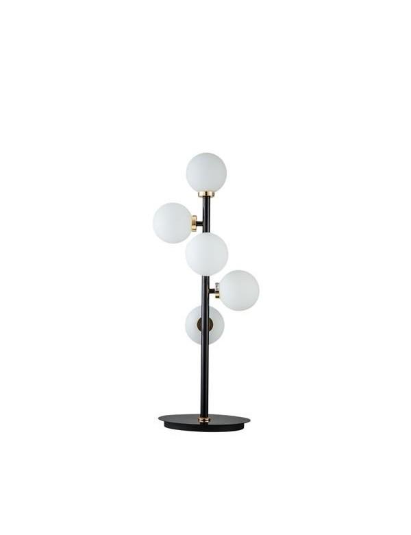 SPACE 2 lampka na stół z dekoracyjnymi kulistymi kloszami - Pallero