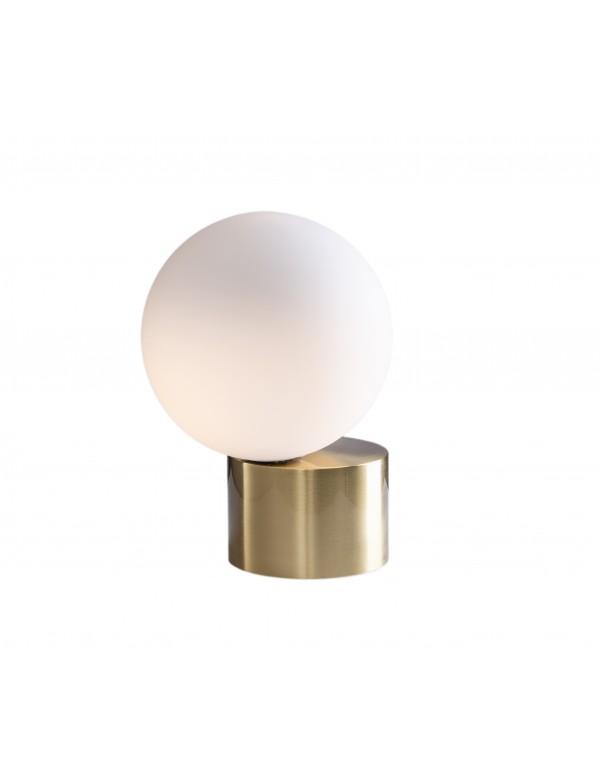 ROSHE 2 mała lampa na stół z kulistym kloszem- Pallero