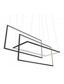 Lampa wisząca led METRIC geometryczny wzór - Azzardo