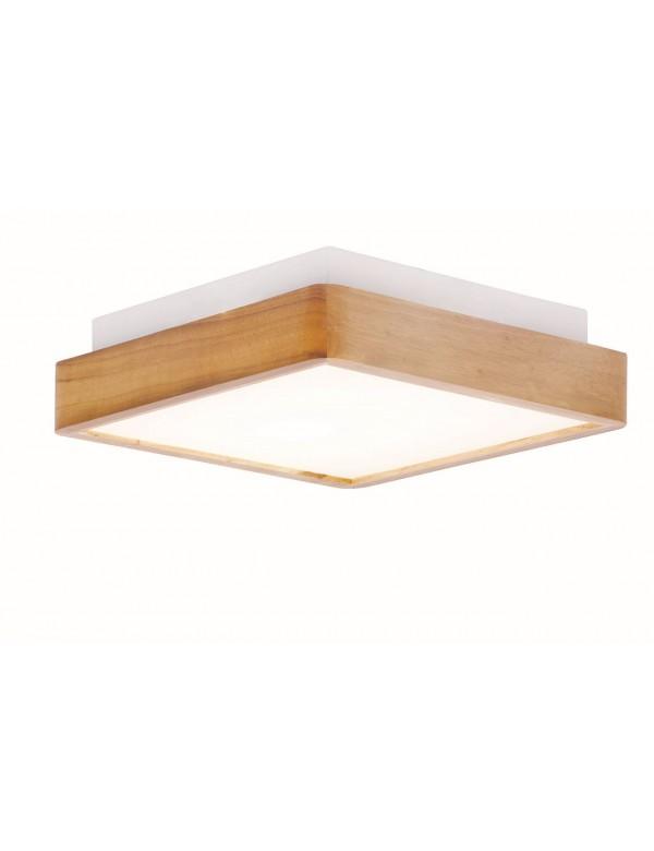 FINTER S uniwersalny plafon z drewnianą oprawą - Auhilon
