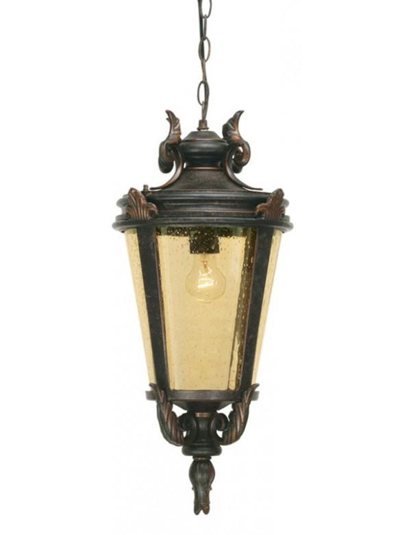 Atrakcyjna wisząca lampa zewnętrzna Baltimore 8M - Elstead Lighting