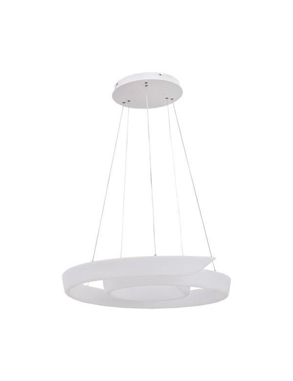 Wisząca lampa FALCON z kloszem w kształcie ślimaka - Zuma Line
