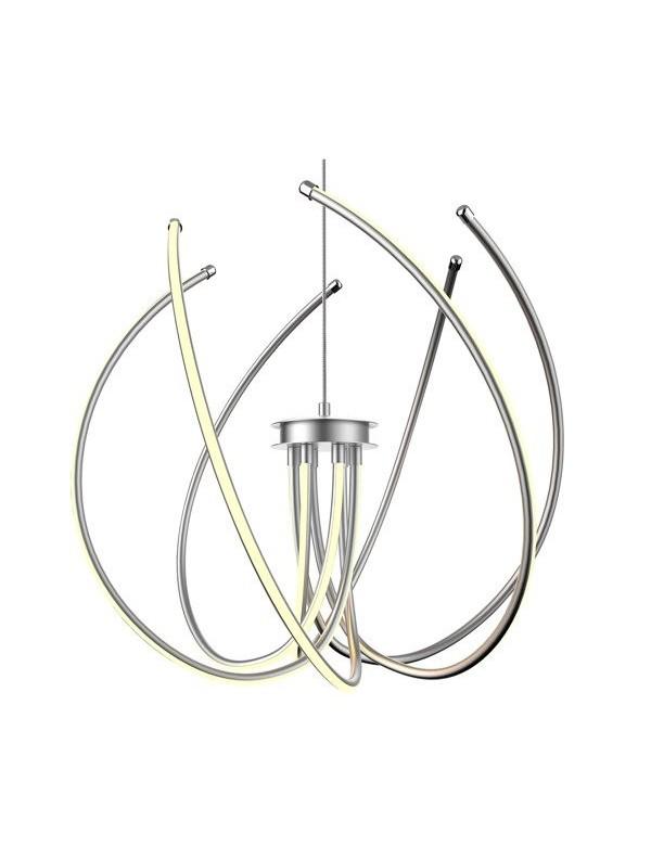 Nowoczesny design CLORIN wisząca lampa z ledowym światłem - Zuma Line