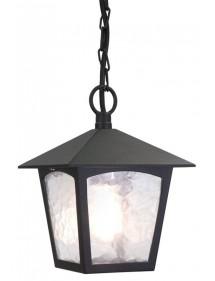 Zewnętrzna lampa wisząca na łańcuchu  York - Elstead Lighting