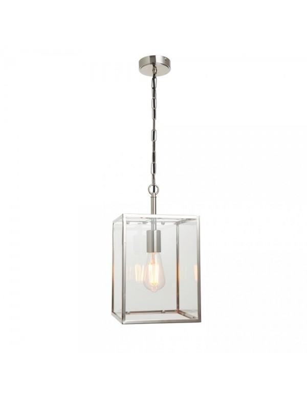 HADDEN 1 wisząca lampa z oszkloną ramową konstrukcją - Endon