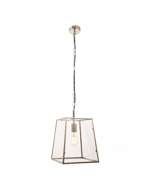 Wisząca lampa z cienką metalową ramką HURST 1 - Endon