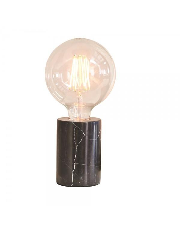 Minimalistyczna marmurowa lampa na stół OTTO LS1 - Endon