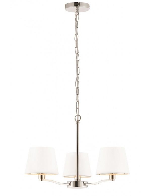 HARVEY 3 potrójna lampa wisząca na łańcuchu - złoto, nikiel - Endon