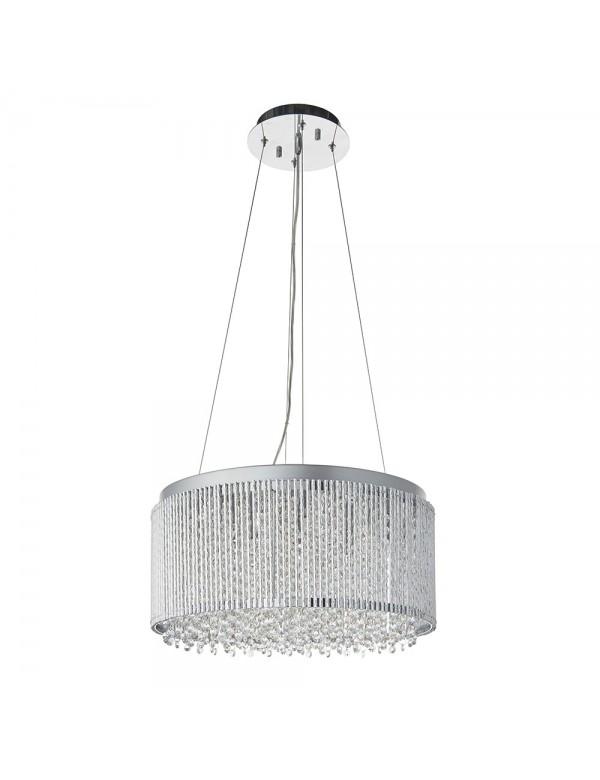 Lampa wisząca GALINA 12 okrąg wypełniony kryształkami  - Endon
