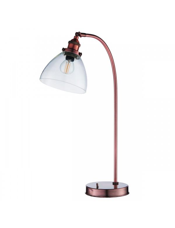 HANSEN TABLE gustowna lampa stołowa z wyłącznikiem - Endon