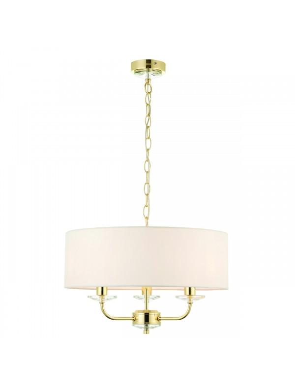 NIXON 3 szykowna lampa wisząca w amerykańskim stylu - Endon
