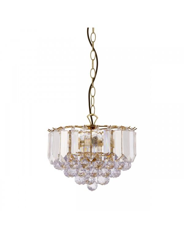 FARGO W1 wisząca lampa ze stożkowo ułożonymi wisiorkami - Endon