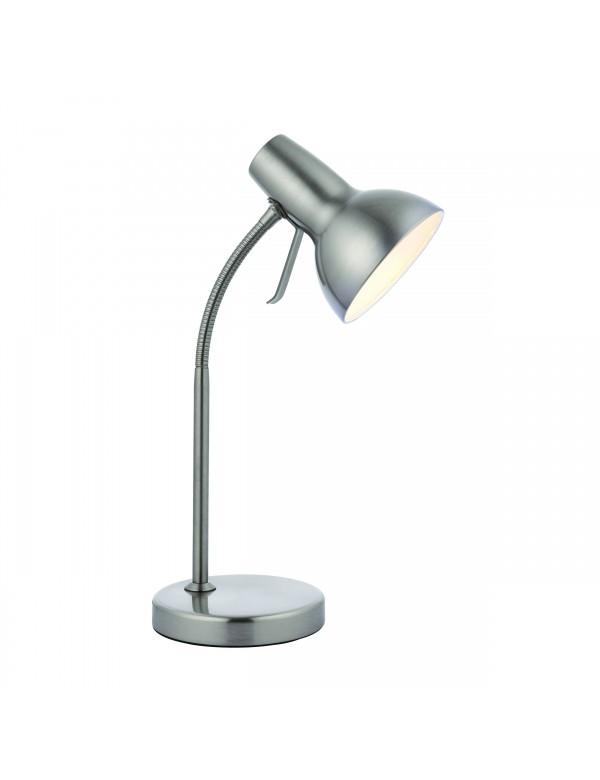 Metalowa lampa na stół AMALFI LS z praktycznym złączem USB - Endon