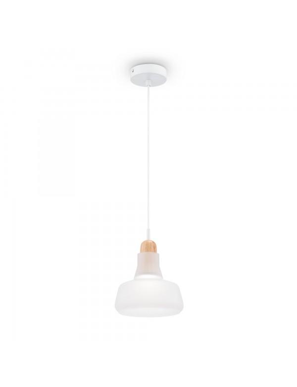 OLA 3 metalowa lampa wisząca z drewnianą wstawką - Maytoni