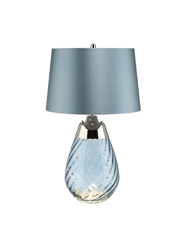 LENA SMALL lampa stołowa z podświetleniem w podstawie - 3 kolory - Elstead