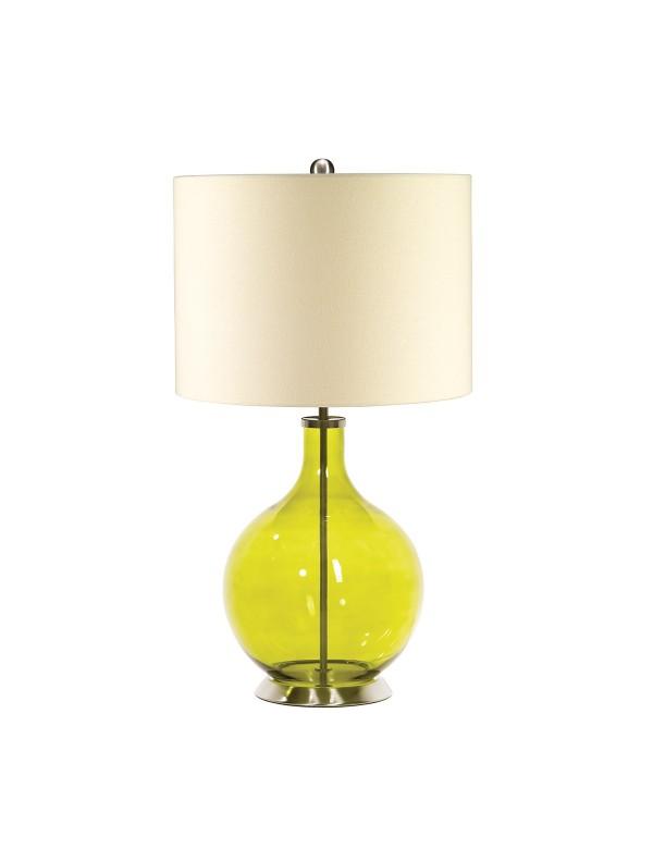 Urzekająca oprawa stołowa Orb Lime - Elstead Lighting