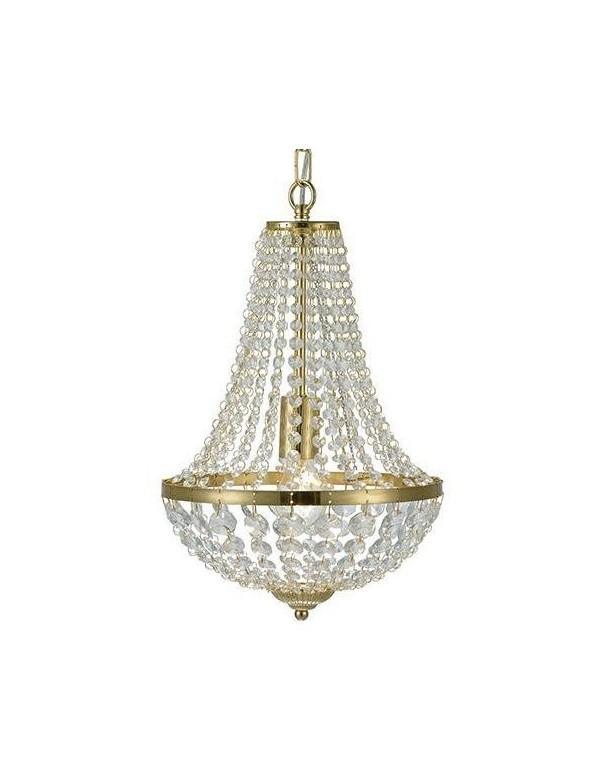 GRANSO 30 mała kryształowa lampa wisząca - 3 kolory - Markslojd