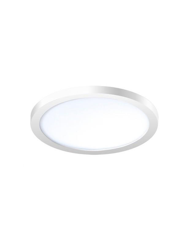 SLIM ROUND 15 łazienkowy plafon akrylowy LED - Azzardo