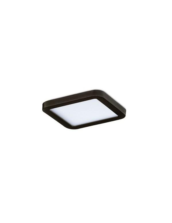 SLIM SQUARE 9 mały plafon łazienkowy - Azzardo