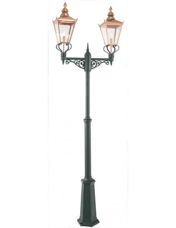 Podwójna miedziana latarnia Chelsea 2 - Norlys