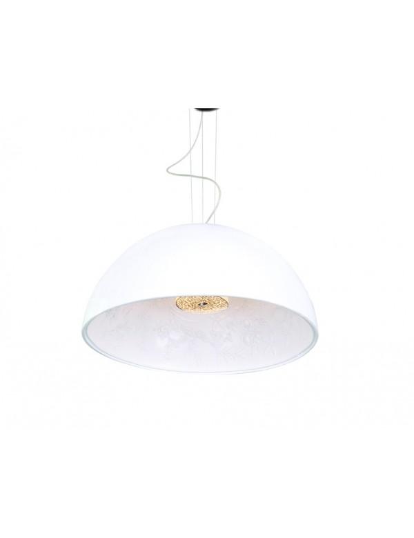 DECORA XL duża lampa wisząca ze wzorem wewnątrz klosza - Azzardo