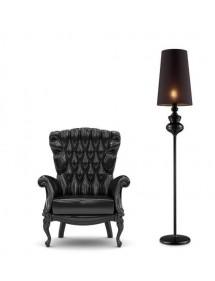 Luksusowa lampa stojąca BAROCO BLACK LP - Azzardo
