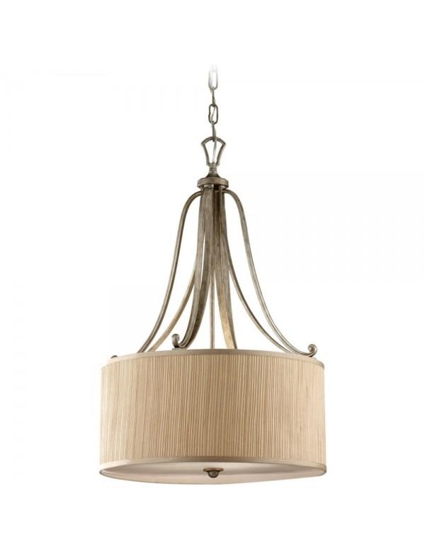 Zachwycająca lampa wisząca Abbey I - Feiss