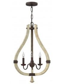 Lampa wisząca - MIDDLEFIELD 3 - Hinkley