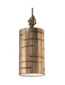 Wisząca lampa pokojowa Fragment Silver I - Flambeau