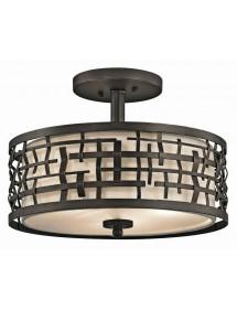 Lampa wisząca / Plafon - LOOM 3 - Kichler