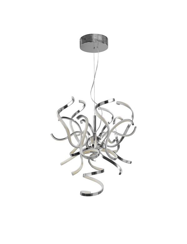Lampa wisząca poplątane wstęgi WEED S LED LW - Sompex