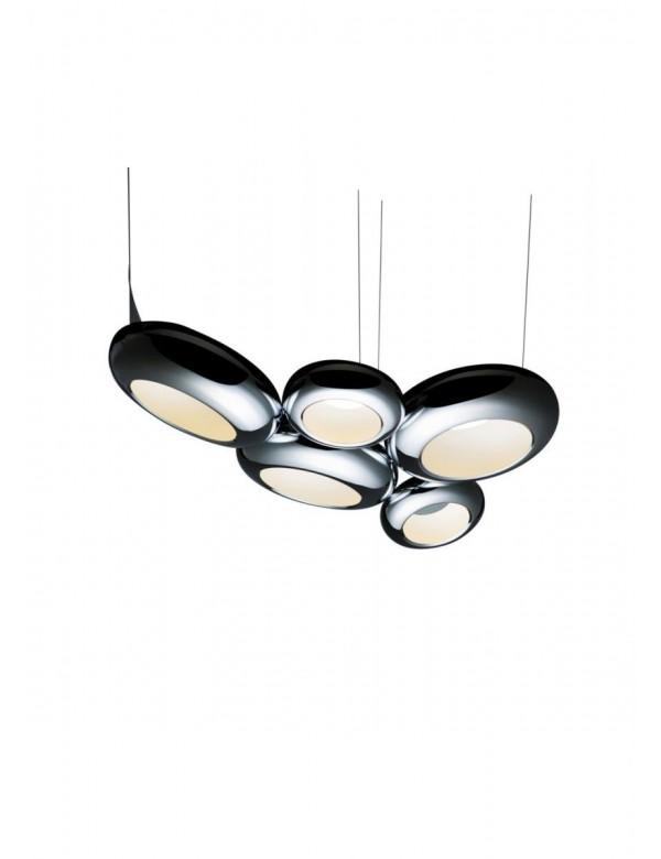 Sompex - wielka wisząca lampa dekoracyjna AURA W5S