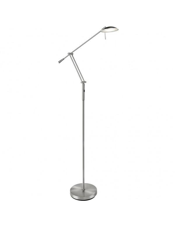 Satynowa lampa podłogowa Sompex - MAYA LP